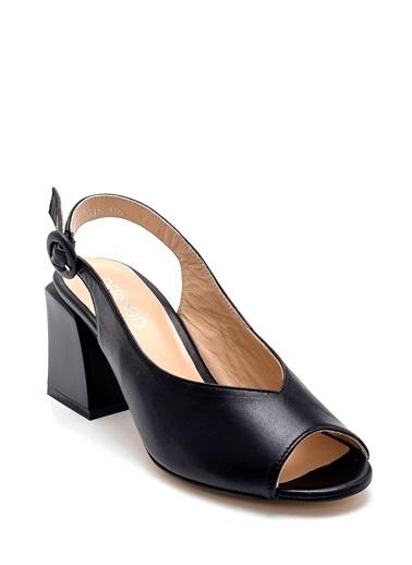 Derimod Kadın Sandalet (29651) Klasik Siyah